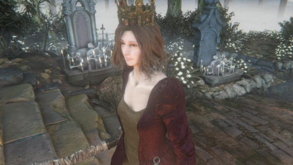 貴族のドレス 幻視の王冠 Bloodborne ブラッドボーン